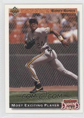 1992 Upper Deck #721 - Barry Bonds