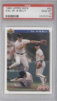 Bloodlines - Cal Ripken Jr., Billy Ripken [PSA 10]