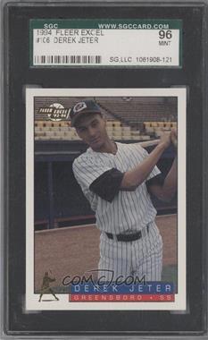 1993-94 Fleer Excel #106 - Derek Jeter [SGC96]