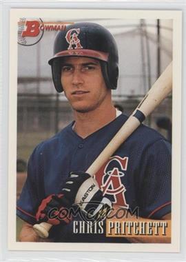 1993 Bowman #665 - Chris Pritchett