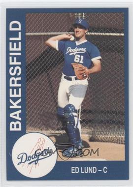1993 Cal League Bakersfield Dodgers - [Base] #16 - Edward Lund