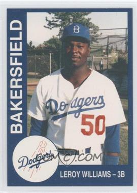 1993 Cal League Bakersfield Dodgers - [Base] #26 - Leroy Williams