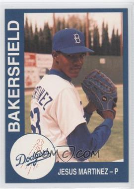 1993 Cal League Bakersfield Dodgers #18 - Jesus Martinez