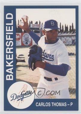 1993 Cal League Bakersfield Dodgers #23 - Carl Thomas