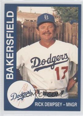 1993 Cal League Bakersfield Dodgers #28 - Rich DeLucia