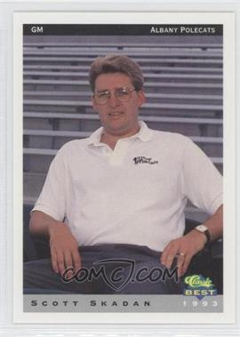 1993 Classic Best Albany Polecats - [Base] #27 - Scott Skadan