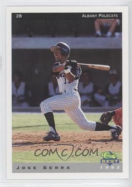 1993 Classic Best Albany Polecats #19 - Jose Segura