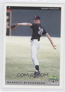 1993 Classic Best Albany Polecats #20 - Garrett Stephenson