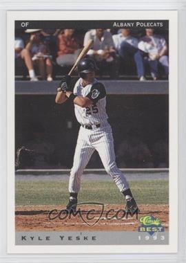 1993 Classic Best Albany Polecats #22 - Kyle Yeske