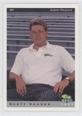 1993 Classic Best Albany Polecats #27 - Scott Skadan