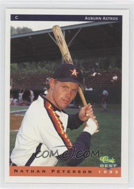 1993 Classic Best Auburn Astros - [Base] #18 - Nate Peterson