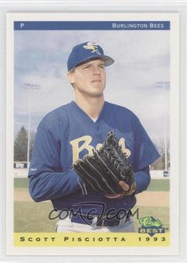 1993 Classic Best Burlington Bees #19 - Scott Pisciotta