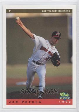 1993 Classic Best Capital City Bombers - [Base] #17 - Joe Petcka