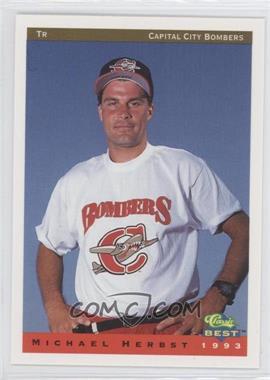 1993 Classic Best Capital City Bombers - [Base] #27 - Mike Henneman
