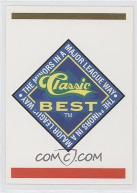 1993 Classic Best Capital City Bombers #30 - Checklist