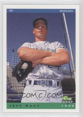 1993 Classic Best Charleston Wheelers - [Base] #20 - Jeffrey Nagy