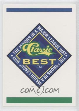 1993 Classic Best Charleston Wheelers - [Base] #N/A - Charleston Wheelers Team