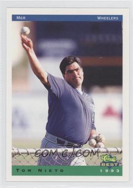 1993 Classic Best Charleston Wheelers #25 - Tom Nieto