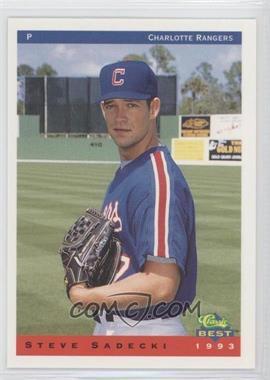 1993 Classic Best Charlotte Rangers #19 - Steve Sadecki