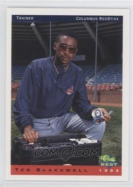 1993 Classic Best Columbus RedStixx #30 - Ted Blackwell