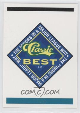 1993 Classic Best Elmira Pioneers - [Base] #N/A - Logo Card