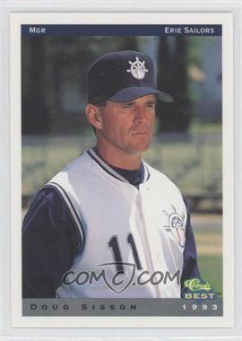1993 Classic Best Erie Sailors - [Base] #27 - Doug Sisson