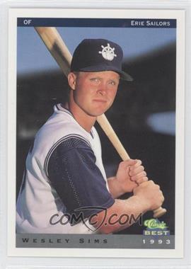 1993 Classic Best Erie Sailors #22 - [Missing]