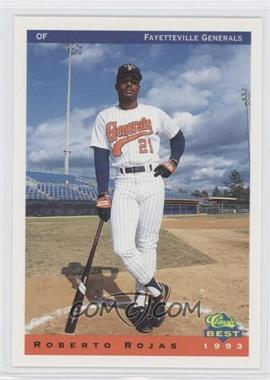 1993 Classic Best Fayetteville Generals - [Base] #21 - Roberto Rojas