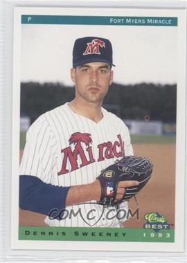 1993 Classic Best Fort Myers Miracle - [Base] #24 - Dennis Sweeney