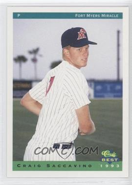 1993 Classic Best Fort Myers Miracle #23 - Craig Saccavino