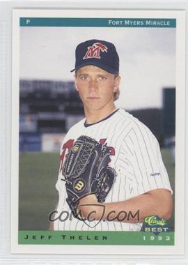 1993 Classic Best Fort Myers Miracle #25 - Jeffrey Thelen