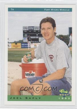1993 Classic Best Fort Myers Miracle #28 - Joel Safly
