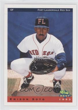 1993 Classic Best Ft. Lauderdale Red Sox #24 - [Missing]