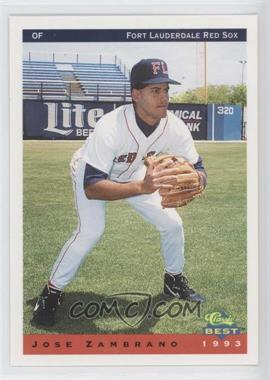 1993 Classic Best Ft. Lauderdale Red Sox #26 - Jose Zambrano