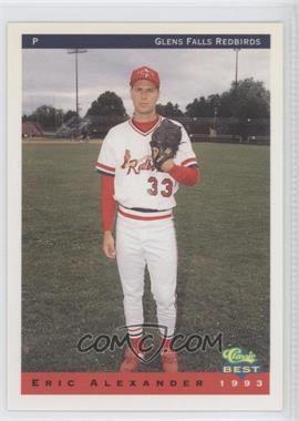 1993 Classic Best Glens Falls Redbirds - [Base] #2 - Eric Alexander