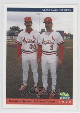 1993 Classic Best Glens Falls Redbirds #30 - Steve Tucker, Mauricio Nunez, Maximo Nunez, Steve Turco