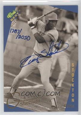 1993 Classic Best Gold Minor League - Autographs #GASH - Gary Sheffield /2050