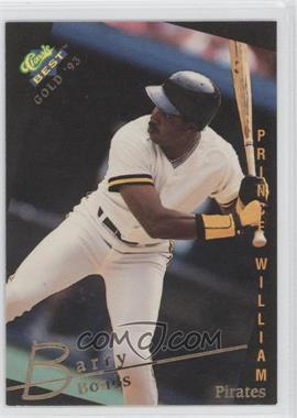 1993 Classic Best Gold Minor League - [Base] #1 - Barry Bonds
