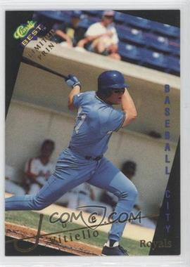 1993 Classic Best Gold Minor League - Limited Print #3 - Joe Vitiello
