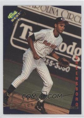 1993 Classic Best Gold Minor League [???] #115 - Derek Jeter