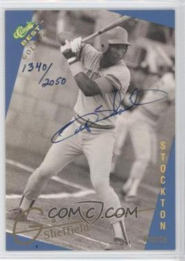 1993 Classic Best Gold Minor League Autographs #GASH - Gary Sheffield /2050