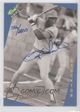 1993 Classic Best Gold Minor League Autographs #N/A - Gary Sheffield /2050