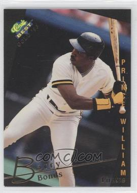 1993 Classic Best Gold Minor League #1 - Barry Bonds