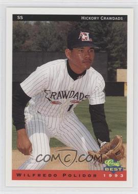 1993 Classic Best Hickory Crawdads - [Base] #19 - Wil Polidor
