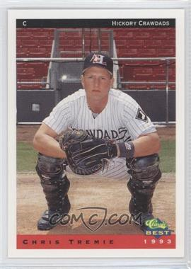 1993 Classic Best Hickory Crawdads - [Base] #25 - Chris Tremie