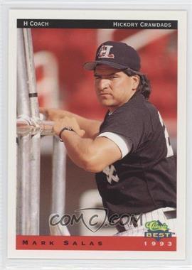 1993 Classic Best Hickory Crawdads - [Base] #29 - Mark Salas