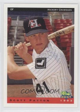 1993 Classic Best Hickory Crawdads #18 - Scott Patton