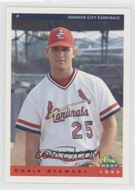 1993 Classic Best Johnson City Cardinals - [Base] #20 - Chris Stewart
