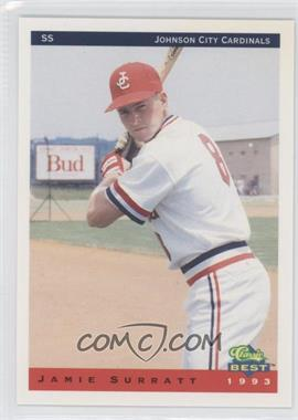 1993 Classic Best Johnson City Cardinals - [Base] #24 - Jamie Surratt