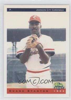 1993 Classic Best Johnson City Cardinals #19 - Duane Stanton